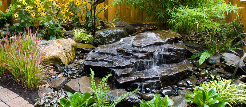 Residential Garden Water Features